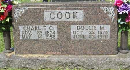 COOK, DOLLIE M. - Madison County, Arkansas | DOLLIE M. COOK - Arkansas Gravestone Photos