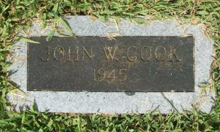 COOK, JOHN W. - Madison County, Arkansas | JOHN W. COOK - Arkansas Gravestone Photos