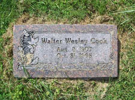 COOK, WALTER WESLEY - Madison County, Arkansas | WALTER WESLEY COOK - Arkansas Gravestone Photos