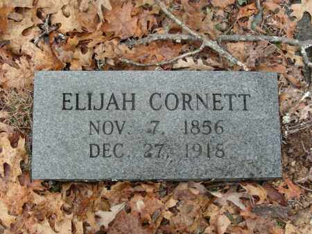CORNETT, ELIJAH - Madison County, Arkansas | ELIJAH CORNETT - Arkansas Gravestone Photos