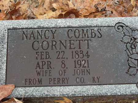 COMBS CORNETT, NANCY - Madison County, Arkansas | NANCY COMBS CORNETT - Arkansas Gravestone Photos