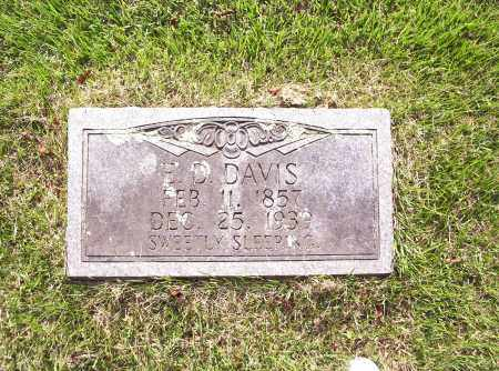 DAVIS, ELIJAH DANIEL - Madison County, Arkansas | ELIJAH DANIEL DAVIS - Arkansas Gravestone Photos