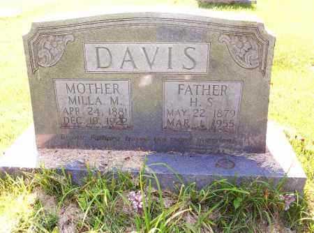 DAVIS, HENRY SHERMAN - Madison County, Arkansas | HENRY SHERMAN DAVIS - Arkansas Gravestone Photos