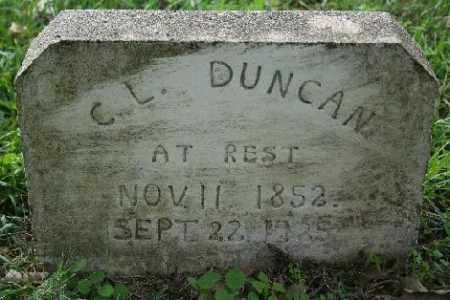 DUNCAN, C.L. - Madison County, Arkansas | C.L. DUNCAN - Arkansas Gravestone Photos