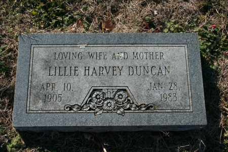 HARVEY DUNCAN, LILLIE - Madison County, Arkansas | LILLIE HARVEY DUNCAN - Arkansas Gravestone Photos