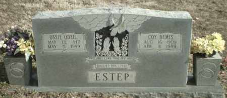 SMITH ESTEP, OSSIE ODELL - Madison County, Arkansas | OSSIE ODELL SMITH ESTEP - Arkansas Gravestone Photos