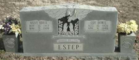 ESTEP, OSSIE ODELL - Madison County, Arkansas | OSSIE ODELL ESTEP - Arkansas Gravestone Photos