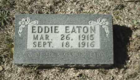 EATON, EDDIE - Madison County, Arkansas | EDDIE EATON - Arkansas Gravestone Photos