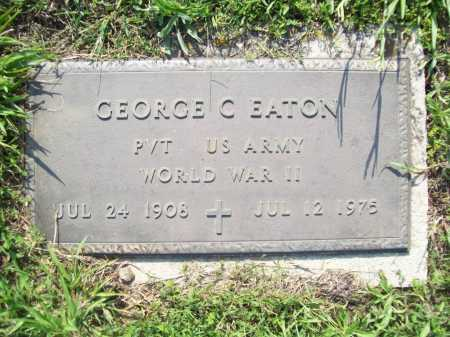 EATON (VETERAN WWII), GEORGE CARL - Madison County, Arkansas | GEORGE CARL EATON (VETERAN WWII) - Arkansas Gravestone Photos