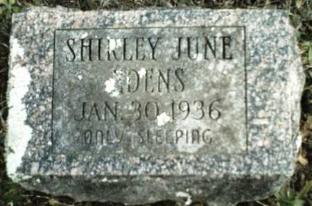 EDENS, SHIRLEY JUNE - Madison County, Arkansas | SHIRLEY JUNE EDENS - Arkansas Gravestone Photos