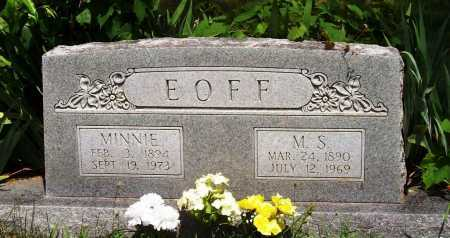 EOFF, M. S. - Madison County, Arkansas | M. S. EOFF - Arkansas Gravestone Photos