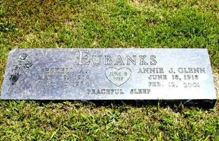 EUBANKS, ANNIE J. - Madison County, Arkansas | ANNIE J. EUBANKS - Arkansas Gravestone Photos