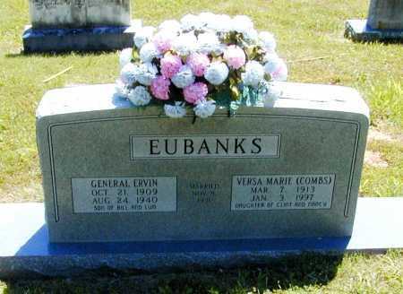 EUBANKS, GENERAL ERVIN - Madison County, Arkansas | GENERAL ERVIN EUBANKS - Arkansas Gravestone Photos