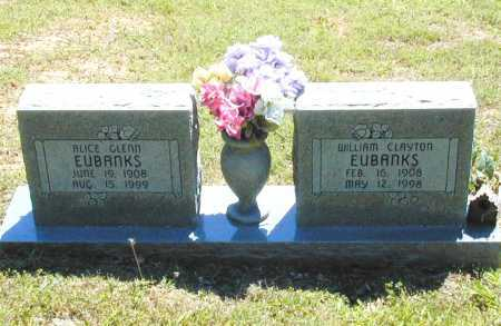 GLENN EUBANKS, DORA ALICE - Madison County, Arkansas | DORA ALICE GLENN EUBANKS - Arkansas Gravestone Photos