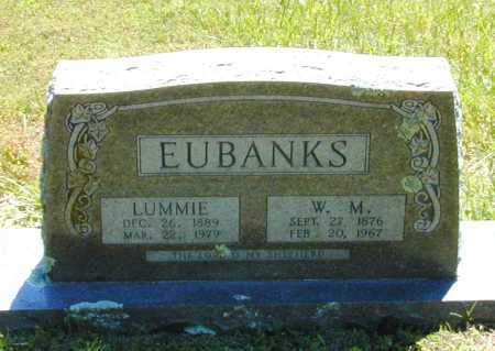 "EUBANKS, COLUMBINE LUELLEN ""LUMMIE"" - Madison County, Arkansas 