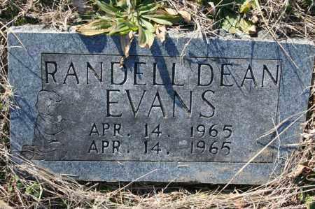 EVANS, RANDELL DEAN - Madison County, Arkansas | RANDELL DEAN EVANS - Arkansas Gravestone Photos
