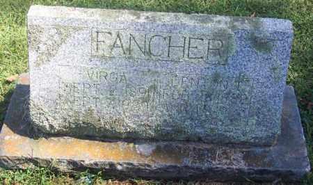 PHARRIS FANCHER, VIRGA - Madison County, Arkansas | VIRGA PHARRIS FANCHER - Arkansas Gravestone Photos