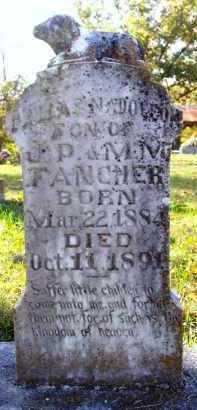 FANCHER, DALLAS NAPOLEON - Madison County, Arkansas | DALLAS NAPOLEON FANCHER - Arkansas Gravestone Photos