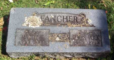 "WILKINS FANCHER, MARTHA MATILDA ""MATTIE"" - Madison County, Arkansas 