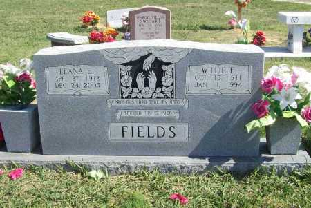 "FIELDS, WILLIAM ELLSWORTH ""WILLIE"" - Madison County, Arkansas 