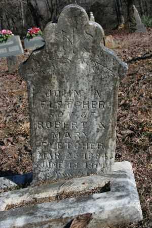 FLETCHER, JOHN A. - Madison County, Arkansas | JOHN A. FLETCHER - Arkansas Gravestone Photos
