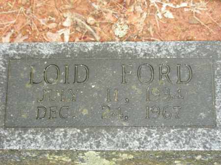 FORD, LOID - Madison County, Arkansas | LOID FORD - Arkansas Gravestone Photos
