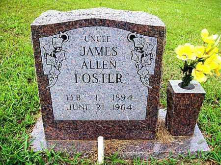 FOSTER, JAMES ALLEN - Madison County, Arkansas | JAMES ALLEN FOSTER - Arkansas Gravestone Photos