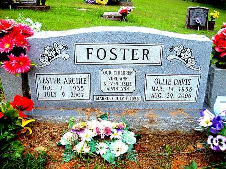 DAVIS FOSTER, OLLIE - Madison County, Arkansas | OLLIE DAVIS FOSTER - Arkansas Gravestone Photos