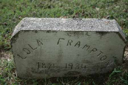 FRAMPTON, LOLA - Madison County, Arkansas | LOLA FRAMPTON - Arkansas Gravestone Photos