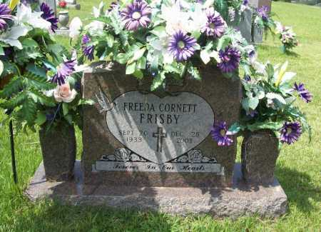 CORNETT FRISBY, FREEDA - Madison County, Arkansas | FREEDA CORNETT FRISBY - Arkansas Gravestone Photos
