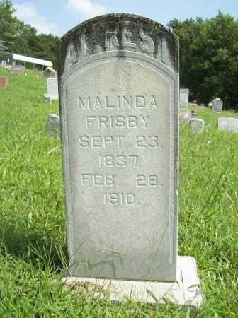 FRISBY, MALINDA - Madison County, Arkansas | MALINDA FRISBY - Arkansas Gravestone Photos