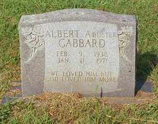 GABBARD, ALBERT - Madison County, Arkansas | ALBERT GABBARD - Arkansas Gravestone Photos