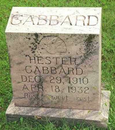 GABBARD, HESTER - Madison County, Arkansas | HESTER GABBARD - Arkansas Gravestone Photos