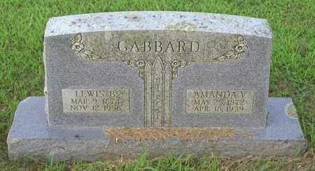 GABBARD, AMANDA V - Madison County, Arkansas | AMANDA V GABBARD - Arkansas Gravestone Photos