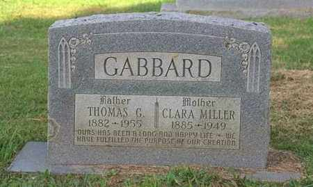 GABBARD, THOMAS GREEN - Madison County, Arkansas | THOMAS GREEN GABBARD - Arkansas Gravestone Photos