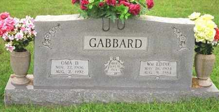 GABBARD, WILLIAM EDWARD - Madison County, Arkansas | WILLIAM EDWARD GABBARD - Arkansas Gravestone Photos