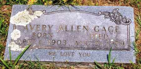 GAGE, AVERY ALLEN - Madison County, Arkansas | AVERY ALLEN GAGE - Arkansas Gravestone Photos
