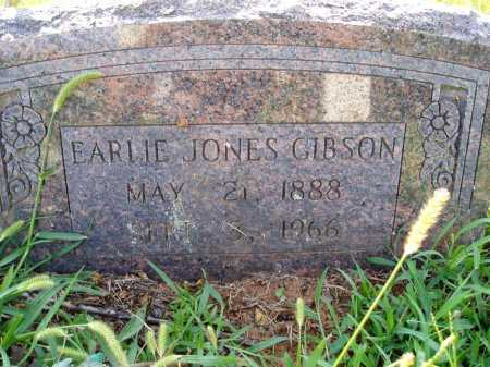 GIBSON, EARLIE JONES - Madison County, Arkansas | EARLIE JONES GIBSON - Arkansas Gravestone Photos