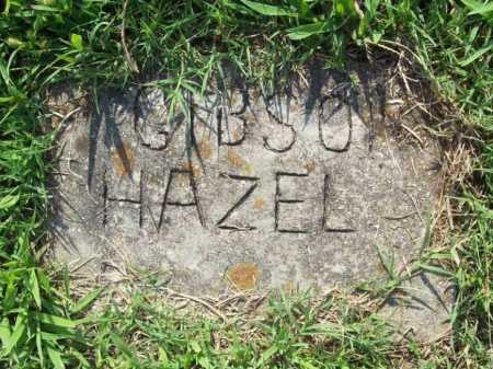 GIBSON, HAZEL - Madison County, Arkansas | HAZEL GIBSON - Arkansas Gravestone Photos