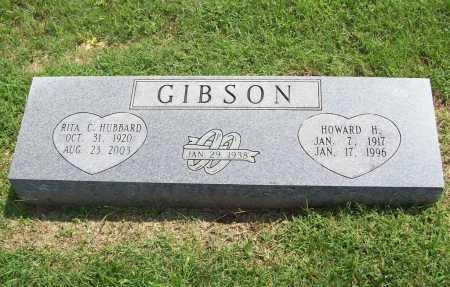 HUBBARD GIBSON, RITA C. - Madison County, Arkansas | RITA C. HUBBARD GIBSON - Arkansas Gravestone Photos