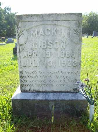 "GIBSON, NOAH MAXWELL ""MACK"" - Madison County, Arkansas 