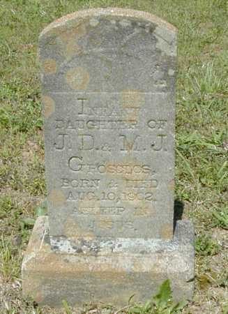 GOSCLOS, INFANT DAUGHTER - Madison County, Arkansas | INFANT DAUGHTER GOSCLOS - Arkansas Gravestone Photos
