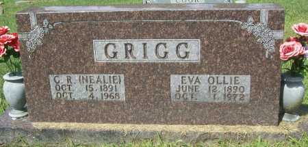 GRIGG, EVA OLLIE - Madison County, Arkansas | EVA OLLIE GRIGG - Arkansas Gravestone Photos