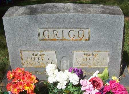 GRIGG, REBECCA L. - Madison County, Arkansas | REBECCA L. GRIGG - Arkansas Gravestone Photos