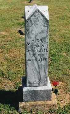 GRIGG, HENRY AMASA - Madison County, Arkansas | HENRY AMASA GRIGG - Arkansas Gravestone Photos