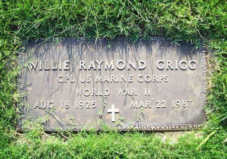 GRIGG (VETERAN WWII), WILLIE RAYMOND - Madison County, Arkansas | WILLIE RAYMOND GRIGG (VETERAN WWII) - Arkansas Gravestone Photos