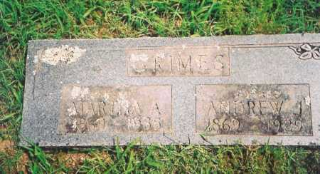 GRIMES, MARTHA A. - Madison County, Arkansas | MARTHA A. GRIMES - Arkansas Gravestone Photos