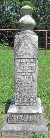 GROSECLOS, JEFF D. - Madison County, Arkansas | JEFF D. GROSECLOS - Arkansas Gravestone Photos