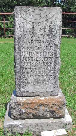 GROSECLOS, MARTHA JANE - Madison County, Arkansas | MARTHA JANE GROSECLOS - Arkansas Gravestone Photos