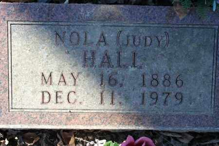 BURRELL HALL, NOLA - Madison County, Arkansas | NOLA BURRELL HALL - Arkansas Gravestone Photos